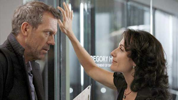 Hugh Laurie appears in a still from 'House M.D.'